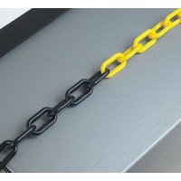 Plastic Chain 6mm Black/Yellow 371449