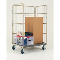 Nesting Roll Cage Container Grey 372145