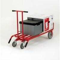 Hand Truck 3-in-1 PU Wheel/Castors Red 372147
