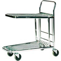 Stock Trolley Metallic Grey 373227