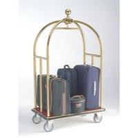 Crown Luggage Trolley Brass 373239
