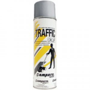 Traffic Paint Grey Pack of 12 373884