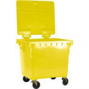 Wheeled Bin 770 Litre Yellow 377389