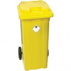 Refuse Container 240 Litre 2-Wheel Yellow 377919