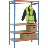 Image for Orange Garment 1200mm Rail Extra Poles