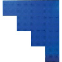 Perforated Tool Panel 990mm Blue 380949