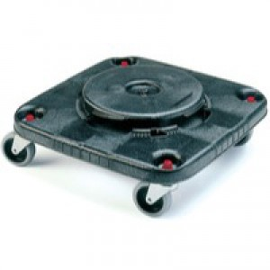 Brute Brute Heavy Duty Container Square Dolly Black 382209