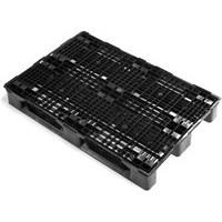 Pallet Plastic 800x1200mm Black 382412