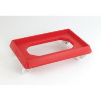 Plastic Dolly for 600x400mm Red 382989