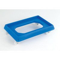 Plastic Dolly for 600x400mm Blue 382990