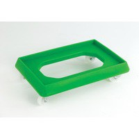 Plastic Dolly for 600x400mm Green 382991