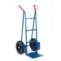 Rough Terrain Hand Truck Blue/Orange 383373