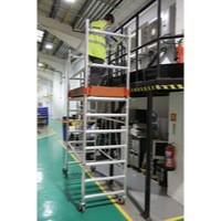 Rail Pack 2 Frame Toeboard Set 1 Hand Rail Silver 383446