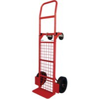 Convertible Hand Truck Steel/Polythene Red 383510