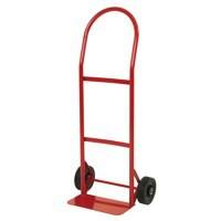 Hand Truck Red Steel/Polyurethane 383511