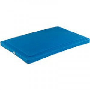 Poly Lid for SCT1 Truck/SSB Bin Blue 326065