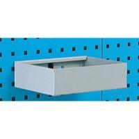 Metal Tray Shelf Plain 450mm Grey 306995