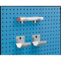 Image for Grey Bracket Pipe 60x36mm Pk2
