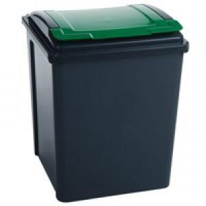 VFM Recycling Bin Green 384288