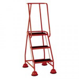 VFM 3-Tread Step Red 385135
