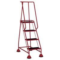 VFM 4-Tread Step Red 385139