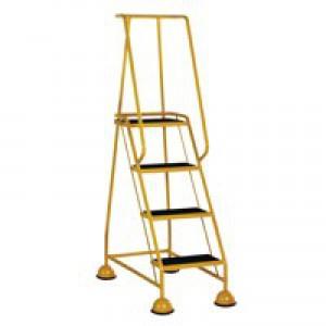 VFM 4-Tread Step Yellow 385141