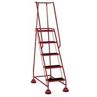 VFM 5-Tread Step Red 385143
