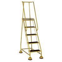 VFM 5-Tread Step Yellow 385145