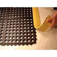 Image for All-Purpose Anti-Fatigue Modular Mat  Grid Surface Black 312412