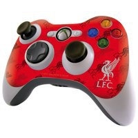 Image for Liverpool FC Xbox 360 Controller Skin Red