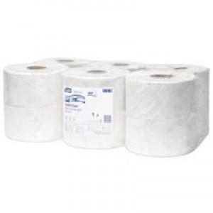Tork Advanced Mini Jumbo Toilet Roll 2 Ply Pk12 120238