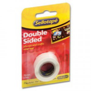 Sellotape Double-Sided Tape 15mm x5 Metres 5501 484349