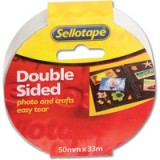 Sellotape Double-Sided Tape 50mm x33 Metres 2294 503886
