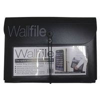 Cathedral 7-Pocket Wall File Black EXPWALBlack