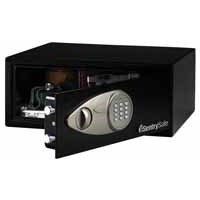 Sentry Medium Laptop Size Electronic Lock Safe Black X075