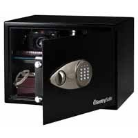 Sentry Pre Laptop Size Electronic Lock Safe Black X125