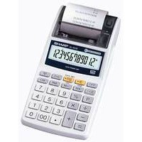 Sharp Hand Held Printing Calculator 12-digit EL1611E