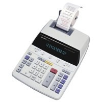 Sharp Printing Calculator 12-digit Fluorescent Display EL1607P
