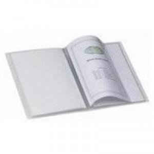 Snopake Superline Presentation Book A4 20-Pocket Polypropylene Clear 11951