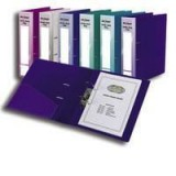 Snopake A4 Lever Arch File Electra Purple 14019