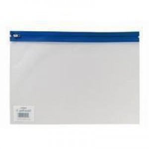 Snopake Zippa Bag A4 Assorted Pack of 25 12796