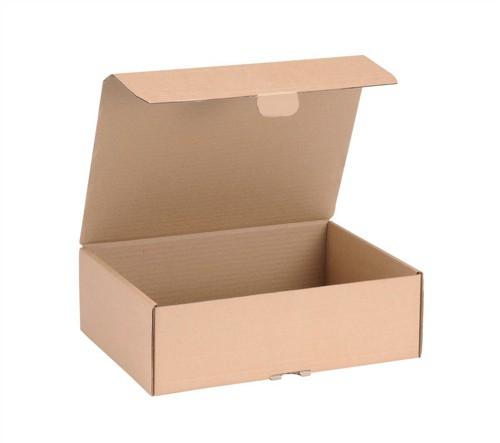 Smart Box Mail Box Medium 325x240x105mm Brown Pack of 20 141312162