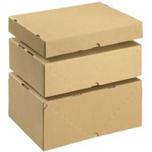 Smart Box Carton/Lid 305x215x150mm Brown Pack of 10 144668114