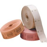 Roll Ticket Plain Assorted 50021 ITP