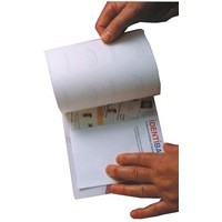 Image for Identibadge Self-Seal Laminating Card A5 Pack of 20 SSC5