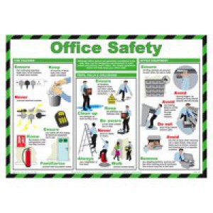 General Sign 420x590mm Office Safety FA603
