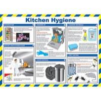 General Sign 420x590mm Kitchen Hygiene FA607