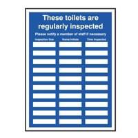 Signslab Ladies Toilet Insp Sign 30 Spaces