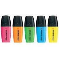 Stabilo Boss Mini Highlighter Pen Pack of 5 Assorted 07/5-11
