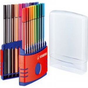 Stabilo Pen 68 ColorParade Assorted Pack of 20 6820-03